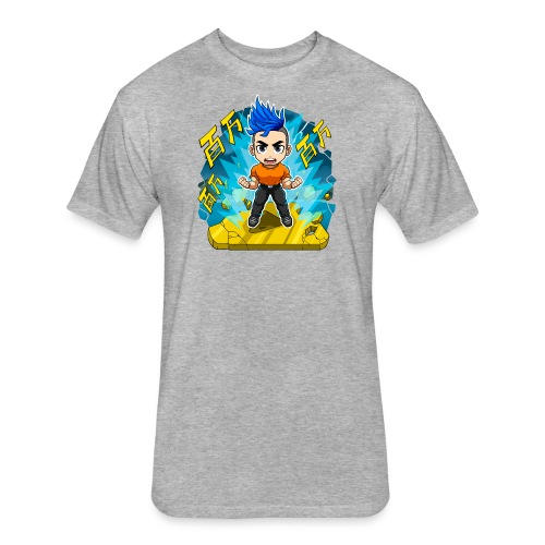 One Million Merch - Fitted Cotton/Poly T-Shirt by Next Level