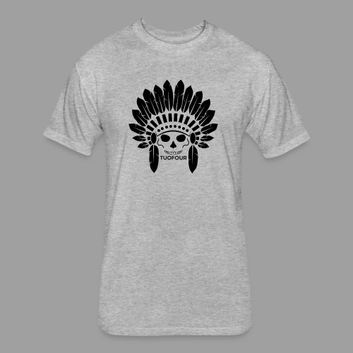 Chief - Fitted Cotton/Poly T-Shirt by Next Level