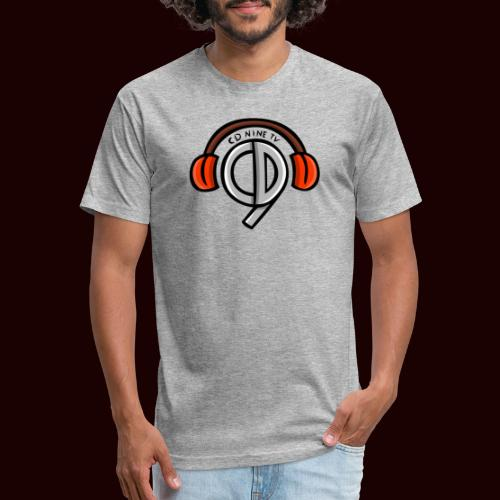 CDNine-TV - Fitted Cotton/Poly T-Shirt by Next Level