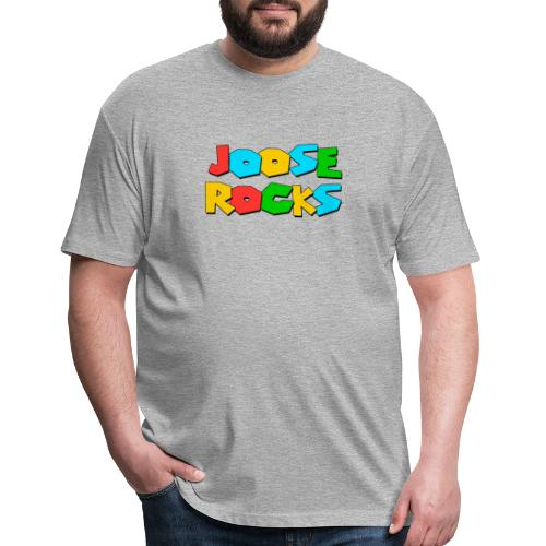 Super Joose Rocks - Fitted Cotton/Poly T-Shirt by Next Level