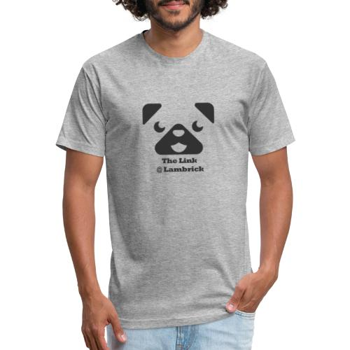 Link Charlie - Fitted Cotton/Poly T-Shirt by Next Level