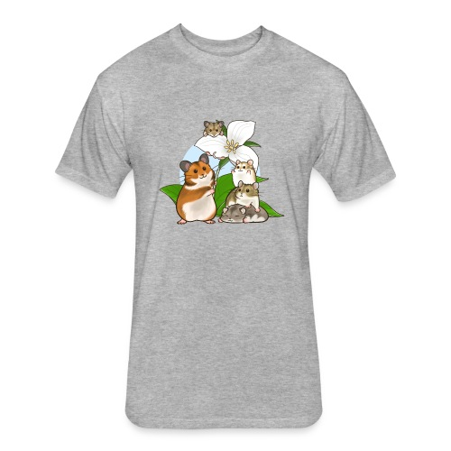 Ontario Hamster Club - Fitted Cotton/Poly T-Shirt by Next Level