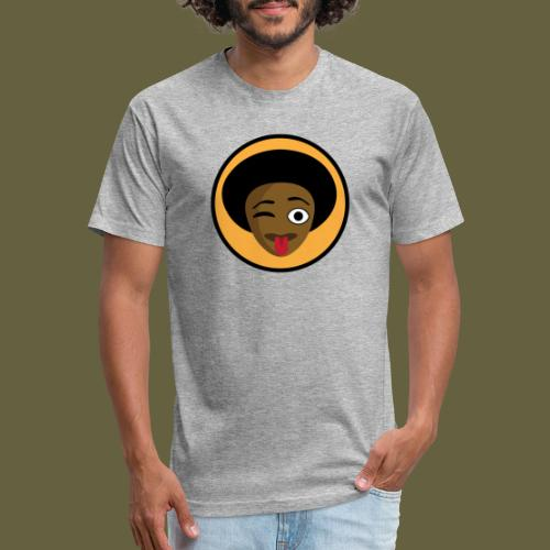 Habesha Beer - After Drinking - Fitted Cotton/Poly T-Shirt by Next Level