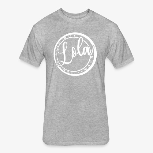 lola LOGO - Fitted Cotton/Poly T-Shirt by Next Level