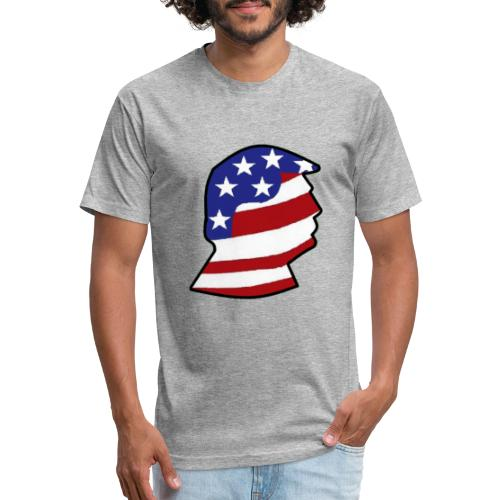Reed Cooper News Logo - Fitted Cotton/Poly T-Shirt by Next Level