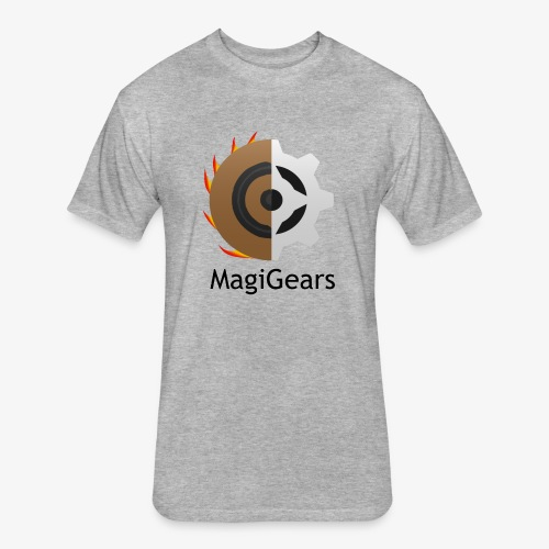 MagiGears - Fitted Cotton/Poly T-Shirt by Next Level