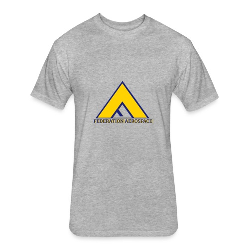 Federation Aerospace - Fitted Cotton/Poly T-Shirt by Next Level