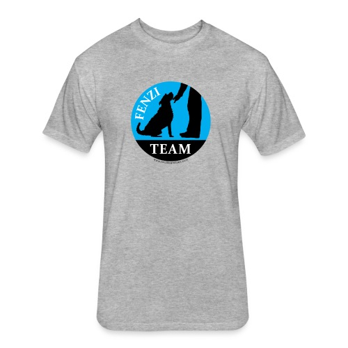 FENZITEAM Logo W - NOT FOR BLACK - Fitted Cotton/Poly T-Shirt by Next Level