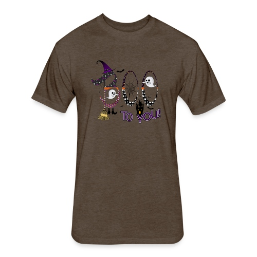 Halloween Boo To You - Fitted Cotton/Poly T-Shirt by Next Level