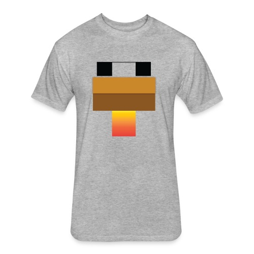 chicken Head - Fitted Cotton/Poly T-Shirt by Next Level