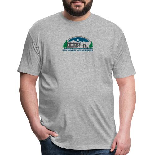 5th Wheel Wanderers - Fitted Cotton/Poly T-Shirt by Next Level