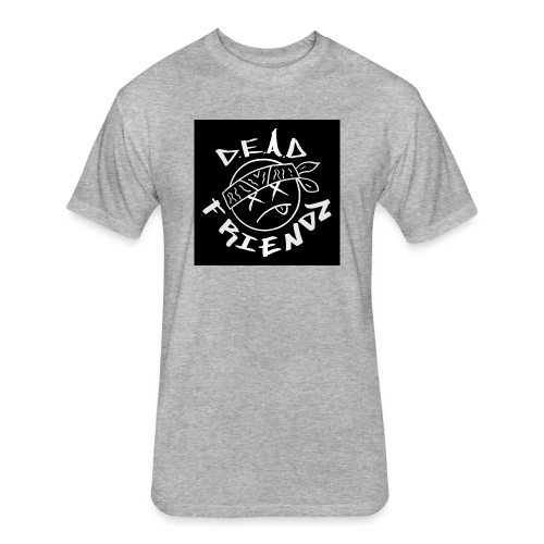 D.E.A.D FRIENDZ Records - Fitted Cotton/Poly T-Shirt by Next Level