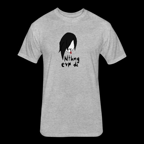 Vamp logo - Fitted Cotton/Poly T-Shirt by Next Level
