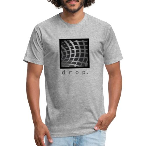 uyttttt - Fitted Cotton/Poly T-Shirt by Next Level