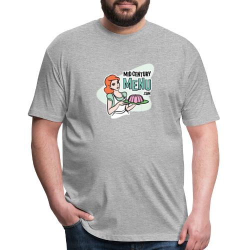 Mid-Century Menu Ruth Logo - Fitted Cotton/Poly T-Shirt by Next Level
