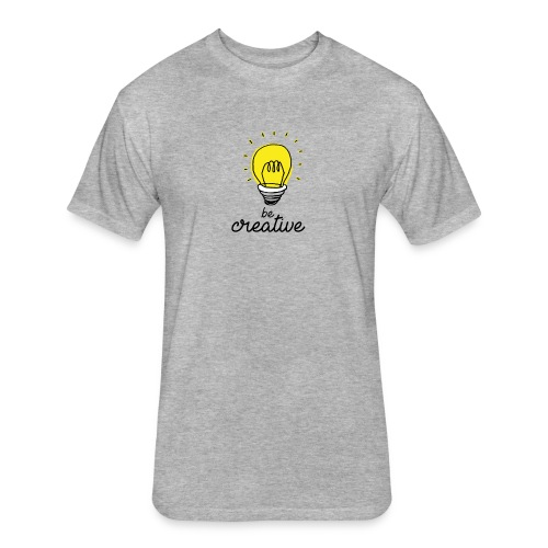 Be creative - Fitted Cotton/Poly T-Shirt by Next Level