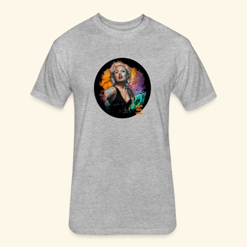 Marilyn Monroe - Fitted Cotton/Poly T-Shirt by Next Level