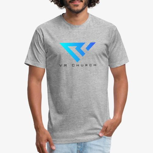 VR Church - Fitted Cotton/Poly T-Shirt by Next Level