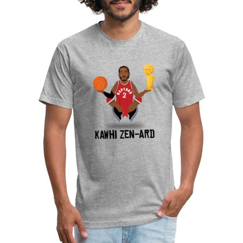 KAWHI ZEN-ARD (RAPTORS) - Fitted Cotton/Poly T-Shirt by Next Level