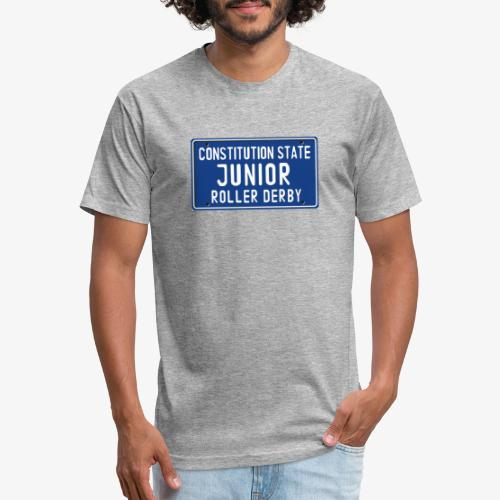 Constitution State Junior Roller Derby - Fitted Cotton/Poly T-Shirt by Next Level