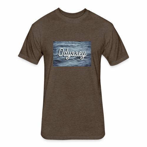 WaterOdyssey - Fitted Cotton/Poly T-Shirt by Next Level