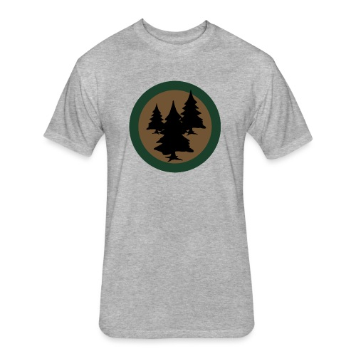 Bush Tuned - Fitted Cotton/Poly T-Shirt by Next Level