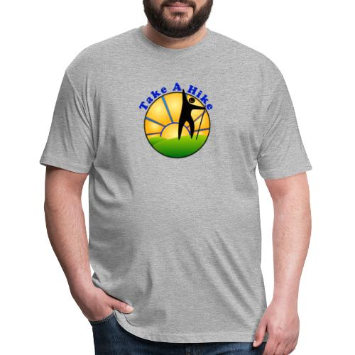 Take A Hike - Fitted Cotton/Poly T-Shirt by Next Level