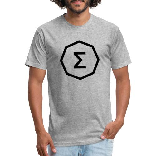 Ergo Symbol White - Fitted Cotton/Poly T-Shirt by Next Level