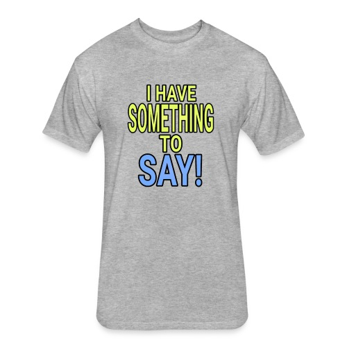 Dave The Cat Big Word tee! STS! - Fitted Cotton/Poly T-Shirt by Next Level