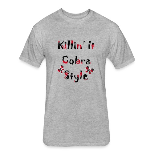 Killin' It Cobra - Fitted Cotton/Poly T-Shirt by Next Level