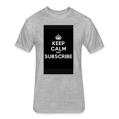 Keep calm merch - Fitted Cotton/Poly T-Shirt by Next Level