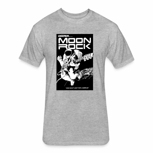 MOONROCK, One Giant Leap for Laserium - Fitted Cotton/Poly T-Shirt by Next Level