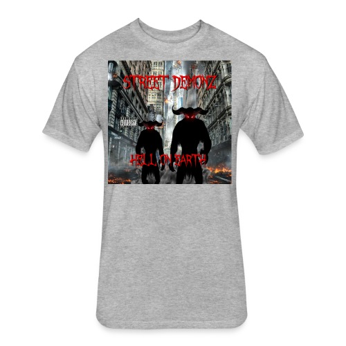 STREET DEMONZ 2.0 ALBUM COVER - Fitted Cotton/Poly T-Shirt by Next Level