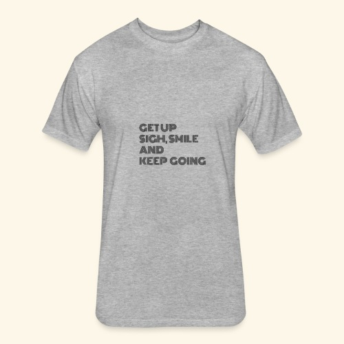 GET UP - Fitted Cotton/Poly T-Shirt by Next Level