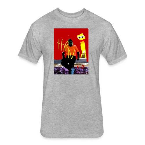 PicsArt 08 08 10 21 20 - Fitted Cotton/Poly T-Shirt by Next Level