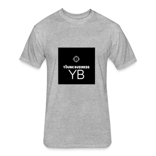 Young Business Hoodie - Fitted Cotton/Poly T-Shirt by Next Level
