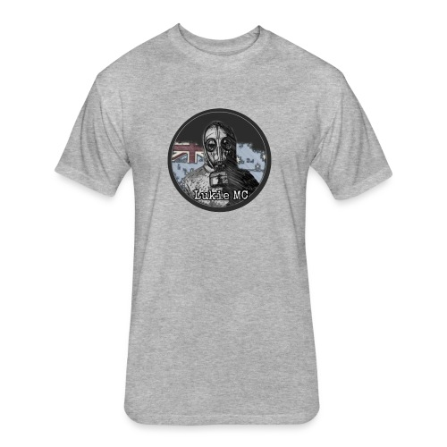 Lukie Mc Fan Logo - Fitted Cotton/Poly T-Shirt by Next Level