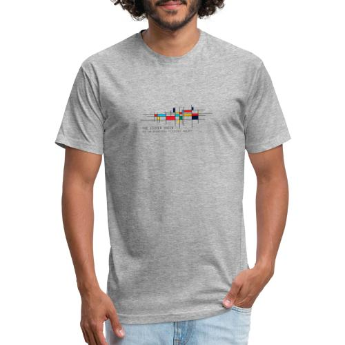 Artistic Cooper Union - Fitted Cotton/Poly T-Shirt by Next Level