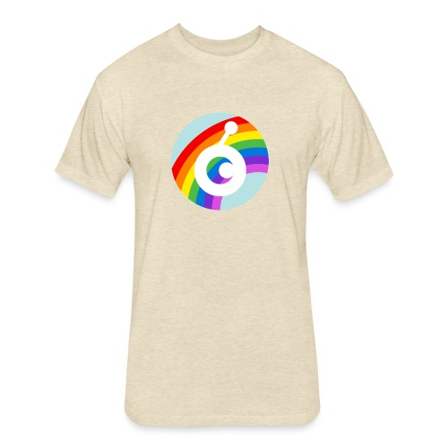 rainbow OST - Fitted Cotton/Poly T-Shirt by Next Level