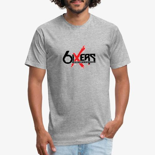 6ixersLogo - Fitted Cotton/Poly T-Shirt by Next Level