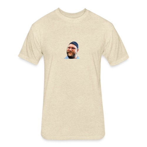 Nate Tv - Fitted Cotton/Poly T-Shirt by Next Level