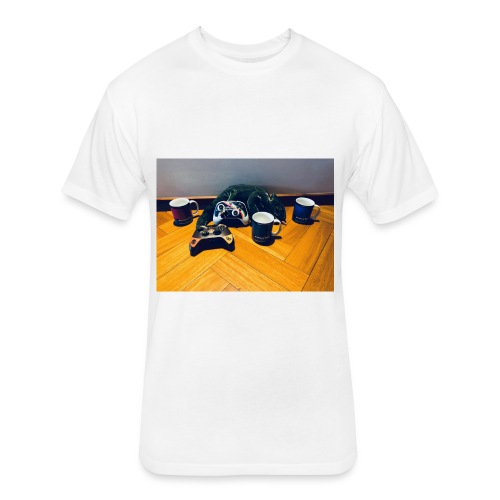 Main picture - Fitted Cotton/Poly T-Shirt by Next Level