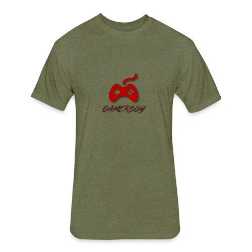 Gamerboy - Fitted Cotton/Poly T-Shirt by Next Level
