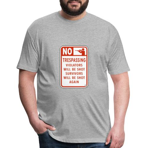 scary fun - Fitted Cotton/Poly T-Shirt by Next Level