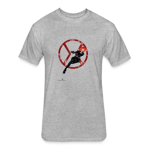 BULLETS AND BALLERINAS - Fitted Cotton/Poly T-Shirt by Next Level