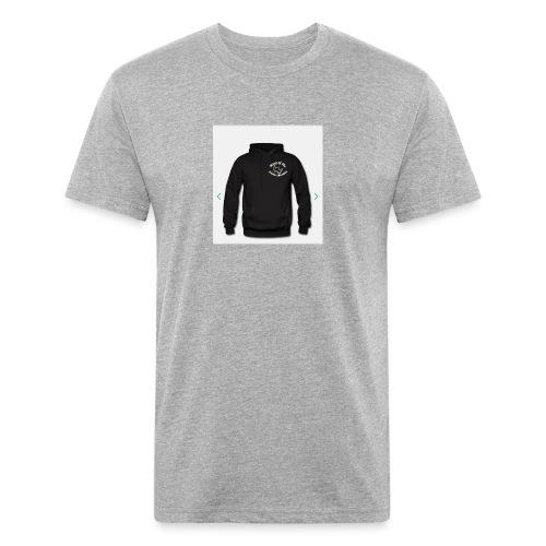 FC9417A1 2499 4BEC B745 1A6A784A9929 - Fitted Cotton/Poly T-Shirt by Next Level