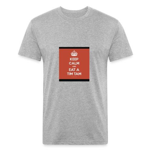 63AF49D3 391F 46E9 9D5F 09C76CF322B8 - Fitted Cotton/Poly T-Shirt by Next Level