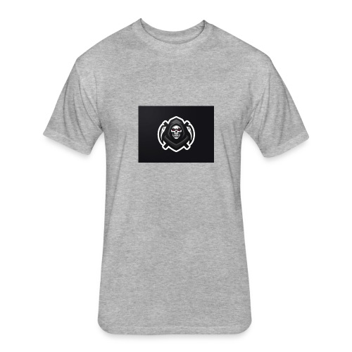 Death For KOXN - Fitted Cotton/Poly T-Shirt by Next Level