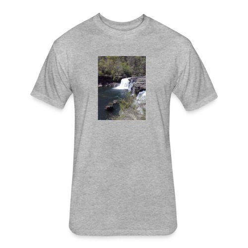 LRC waterfall - Fitted Cotton/Poly T-Shirt by Next Level