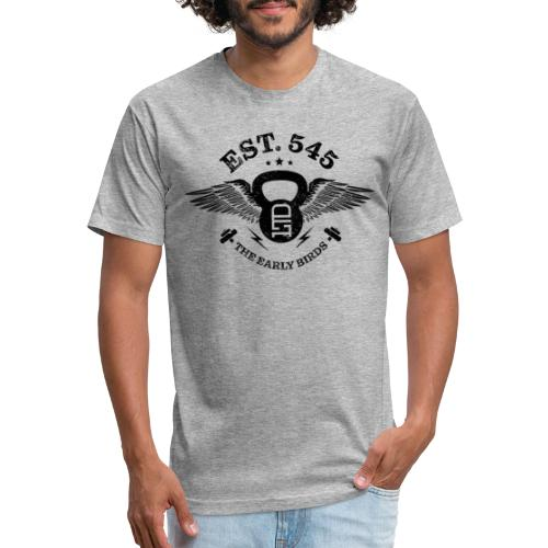 The Early Birds - Fitted Cotton/Poly T-Shirt by Next Level